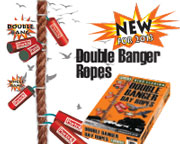 An advert for banger ropes